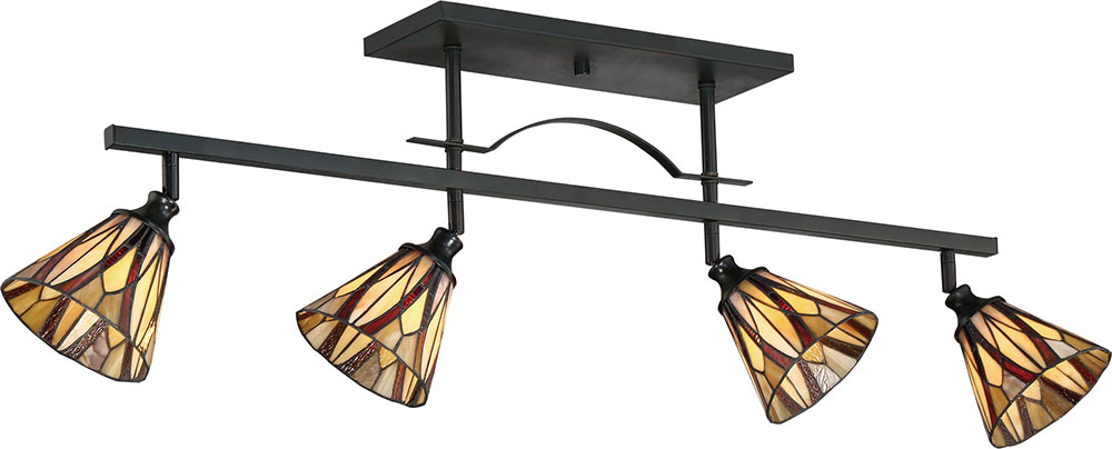 Stained Gl Track Lighting Decorating Ideas
