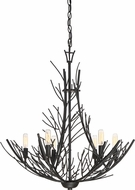 Quoizel THL5006MK Thornhill Modern Marcado Black Chandelier Lighting