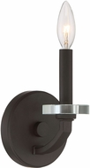 Quoizel TNS8701OZ Transit Contemporary Old Bronze Wall Light Sconce