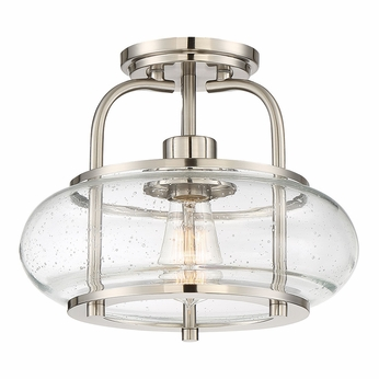 Bathroom Light Fixtures Brushed Nickel Ceiling Mount quoizel trg1712bn trilogy contemporary brushed nickel fluorescent