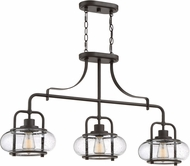 Quoizel TRG338OZ Trilogy Contemporary Old Bronze Island Lighting