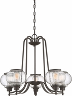 Quoizel TRG5005OZ Trilogy Contemporary Old Bronze Lighting Chandelier