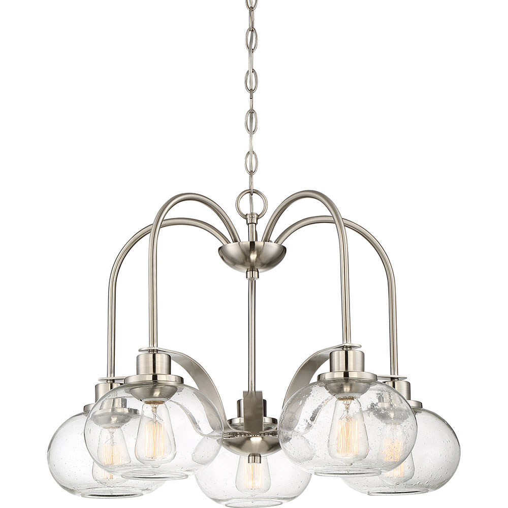 Quoizel Trg5105bn Trilogy Contemporary Brushed Nickel
