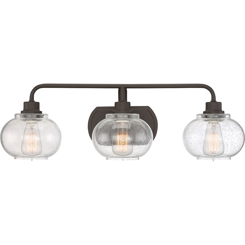 Bathroom Vanity Lights In Bronze quoizel trg8603oz trilogy contemporary old bronze fluorescent 3