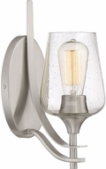 Quoizel TWE8701BN Towne Modern Brushed Nickel Wall Sconce