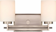 Quoizel TY8602AN Taylor Modern Antique Nickel 2-Light Bathroom Vanity Light Fixture