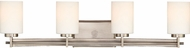 Quoizel TY8604AN Taylor Modern Antique Nickel 4-Light Bathroom Lighting Sconce