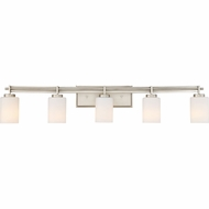 Quoizel TY8605AN Taylor Contemporary Antique Nickel 5-Light Vanity Light Fixture
