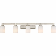 Quoizel TY8605BN Taylor Modern Brushed Nickel 5-Light Vanity Lighting Fixture