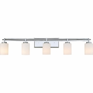 Quoizel TY8605C Taylor Contemporary Polished Chrome 5-Light Bathroom Vanity Light Fixture