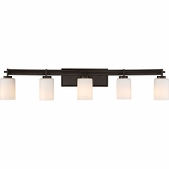 Quoizel TY8605WT Taylor Modern Western Bronze 5-Light Bathroom Wall Sconce