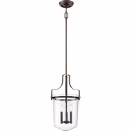 Quoizel UPPS2813WT Uptown Penn Station Western Bronze Finish 13  Wide Drop Ceiling Lighting
