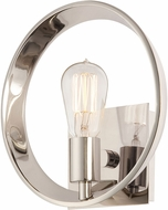 Quoizel UPTR8701IS Uptown Theater Row Contemporary Imperial Silver Wall Lighting