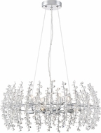 Quoizel VLA2823C Valla Polished Chrome Xenon Pendant Light Fixture
