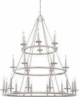 Quoizel VYR5024BN Voyager Contemporary Brushed Nickel Hanging Chandelier