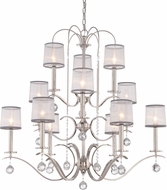 Quoizel WHI5012IS Whitney Imperial Silver Lighting Chandelier