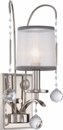 Quoizel WHI8701IS Whitney Imperial Silver Wall Light Sconce