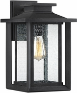 Quoizel WKF8409EK Wakefield Modern Earth Black Outdoor 8.75  Lamp Sconce