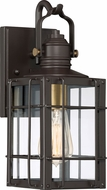 Quoizel WTO8406WT West Oak Western Bronze Outdoor 5.75  Sconce Lighting
