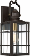 Quoizel WTO8408WT West Oak Western Bronze Exterior 7.5  Light Sconce