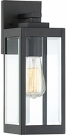 Quoizel WVR8405EK Westover Modern Earth Black Outdoor 5  Wall Sconce Lighting