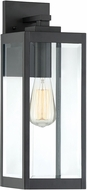 Quoizel WVR8406EK Westover Contemporary Earth Black Outdoor 6  Wall Mounted Lamp