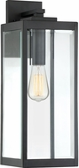 Quoizel WVR8407EK Westover Modern Earth Black Outdoor 7  Wall Light Sconce