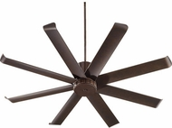 Quorum 196608-86 Proxima Patio Contemporary Oiled Bronze w/ Oiled Bronze Blades Outdoor 60  Home Ceiling Fan