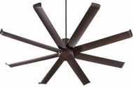 Quorum 196728-86 Proxima Patio Modern Oiled Bronze w/ Oiled Bronze Blades Exterior 72  Ceiling Fan