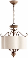 Quorum 2706-18-39 Salento Vintage Copper Drum Drop Ceiling Lighting