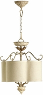 Quorum 2706-18-70 Salento Persian White Drum Ceiling Light Pendant