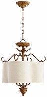 Quorum 2706-18-94 Salento French Umber Drum Ceiling Pendant Light