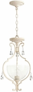 Quorum 2814-12-70 Ansley Traditional Persian White Foyer Lighting