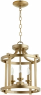 Quorum 2817-13-80 Lancaster Aged Brass Foyer Lighting Fixture