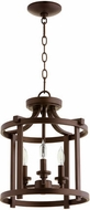 Quorum 2817-13-86 Lancaster Oiled Bronze Entryway Light Fixture