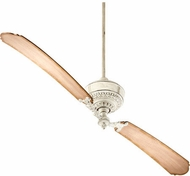 Quorum 28682-70 Turner Persian White w/ Distressed Weathered Pine Blades 68  Home Ceiling Fan