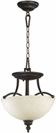 Quorum 2877-14-86 Aspen Oiled Bronze Hanging Pendant Lighting