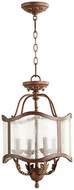 Quorum 2906-13-39 Salento Vintage Copper Foyer Lighting Fixture