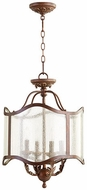 Quorum 2906-16-39 Salento Vintage Copper Foyer Light Fixture