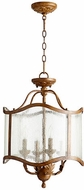 Quorum 2906-16-94 Salento French Umber Entryway Light Fixture