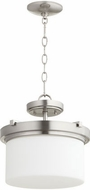 Quorum 2917-13-65 Lancaster Satin Nickel Pendant Lighting