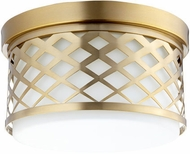 Quorum 341-12-80 Tommy Aged Brass Ceiling Lighting