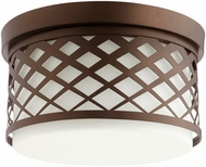 Quorum 341-12-86 Tommy Oiled Bronze Ceiling Light