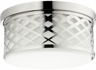 Quorum 341-14-62 Tommy Polished Nickel Ceiling Light Fixture