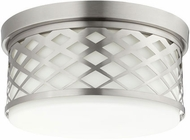 Quorum 341-14-65 Tommy Satin Nickel Ceiling Lighting Fixture