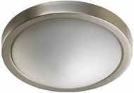 Quorum 3505-13-65 Satin Nickel 13  Flush Lighting