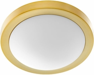 Quorum 3505-13-80 Aged Brass 13  Flush Mount Lighting