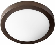 Quorum 3505-13-86 Oiled Bronze w/ Satin Opal 13  Overhead Lighting