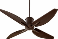 Quorum 50524-86 Kai Contemporary Oiled Bronze w/ Oiled Bronze Blades 52  Home Ceiling Fan