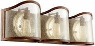 Quorum 5106-3-94 Salento French Umber 3-Light Bath Sconce
